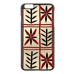 Abstract A Colorful Modern Illustration Pattern Apple iPhone 6 Plus/6S Plus Black Enamel Case