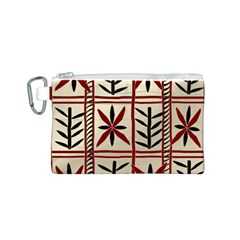 Abstract A Colorful Modern Illustration Pattern Canvas Cosmetic Bag (s)