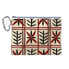 Abstract A Colorful Modern Illustration Pattern Canvas Cosmetic Bag (L)