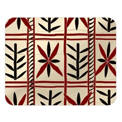 Abstract A Colorful Modern Illustration Pattern Double Sided Flano Blanket (Large)