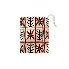 Abstract A Colorful Modern Illustration Pattern Drawstring Pouches (xs)