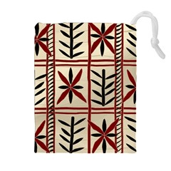 Abstract A Colorful Modern Illustration Pattern Drawstring Pouches (extra Large)