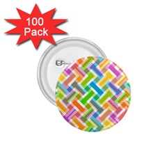 Abstract Pattern Colorful Wallpaper Background 1 75  Buttons (100 Pack)