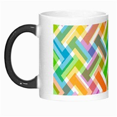 Abstract Pattern Colorful Wallpaper Background Morph Mugs