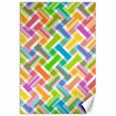 Abstract Pattern Colorful Wallpaper Background Canvas 20  X 30