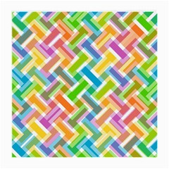 Abstract Pattern Colorful Wallpaper Background Medium Glasses Cloth (2-Side)