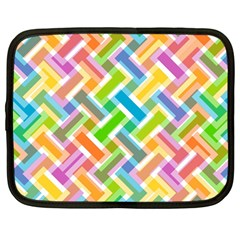 Abstract Pattern Colorful Wallpaper Background Netbook Case (large)