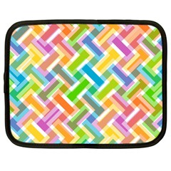 Abstract Pattern Colorful Wallpaper Background Netbook Case (xl)