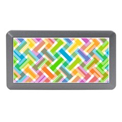 Abstract Pattern Colorful Wallpaper Background Memory Card Reader (Mini)
