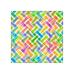 Abstract Pattern Colorful Wallpaper Background Acrylic Tangram Puzzle (4  X 4 )