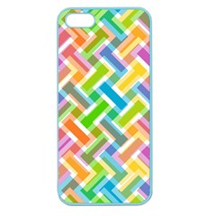 Abstract Pattern Colorful Wallpaper Background Apple Seamless iPhone 5 Case (Color)