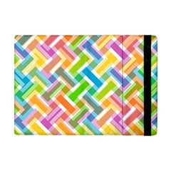 Abstract Pattern Colorful Wallpaper Background Apple Ipad Mini Flip Case
