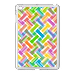 Abstract Pattern Colorful Wallpaper Background Apple Ipad Mini Case (white)
