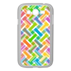 Abstract Pattern Colorful Wallpaper Background Samsung Galaxy Grand DUOS I9082 Case (White)