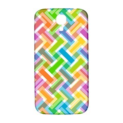 Abstract Pattern Colorful Wallpaper Background Samsung Galaxy S4 I9500/i9505  Hardshell Back Case