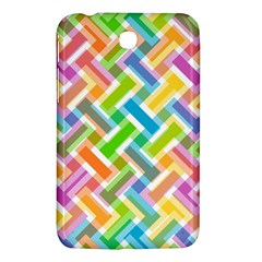 Abstract Pattern Colorful Wallpaper Background Samsung Galaxy Tab 3 (7 ) P3200 Hardshell Case