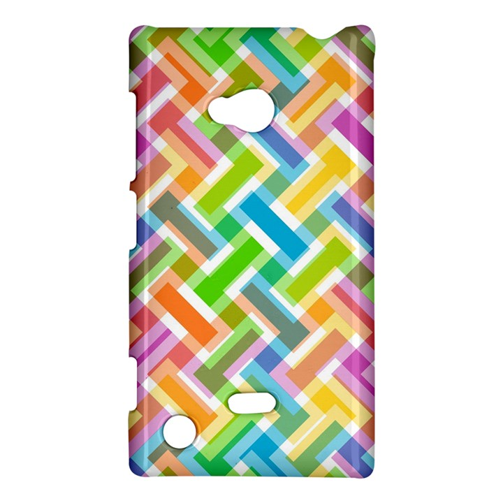 Abstract Pattern Colorful Wallpaper Background Nokia Lumia 720