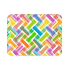 Abstract Pattern Colorful Wallpaper Background Double Sided Flano Blanket (Mini)