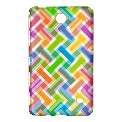 Abstract Pattern Colorful Wallpaper Background Samsung Galaxy Tab 4 (7 ) Hardshell Case