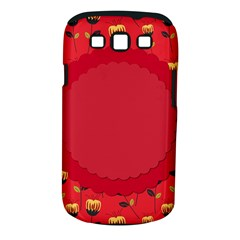Floral Roses Pattern Background Seamless Samsung Galaxy S III Classic Hardshell Case (PC+Silicone)