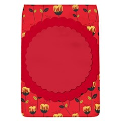 Floral Roses Pattern Background Seamless Flap Covers (S)