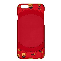 Floral Roses Pattern Background Seamless Apple iPhone 6 Plus/6S Plus Hardshell Case