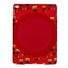 Floral Roses Pattern Background Seamless iPad Air 2 Hardshell Cases