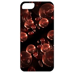 Fractal Chocolate Balls On Black Background Apple iPhone 5 Classic Hardshell Case