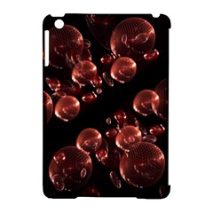 Fractal Chocolate Balls On Black Background Apple Ipad Mini Hardshell Case (compatible With Smart Cover)