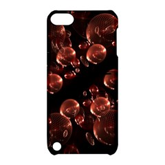 Fractal Chocolate Balls On Black Background Apple iPod Touch 5 Hardshell Case with Stand