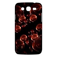 Fractal Chocolate Balls On Black Background Samsung Galaxy Mega 5.8 I9152 Hardshell Case