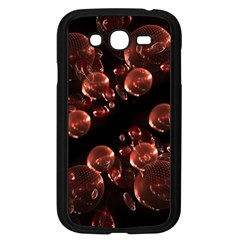 Fractal Chocolate Balls On Black Background Samsung Galaxy Grand DUOS I9082 Case (Black)
