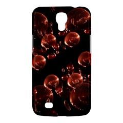 Fractal Chocolate Balls On Black Background Samsung Galaxy Mega 6.3  I9200 Hardshell Case