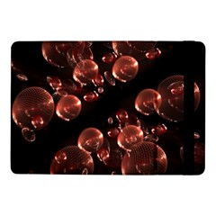 Fractal Chocolate Balls On Black Background Samsung Galaxy Tab Pro 10.1  Flip Case