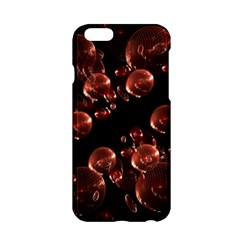 Fractal Chocolate Balls On Black Background Apple iPhone 6/6S Hardshell Case