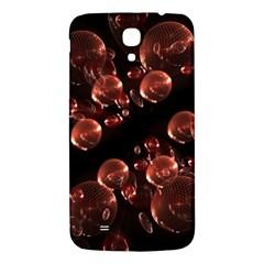 Fractal Chocolate Balls On Black Background Samsung Galaxy Mega I9200 Hardshell Back Case