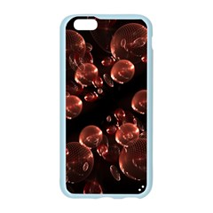 Fractal Chocolate Balls On Black Background Apple Seamless iPhone 6/6S Case (Color)