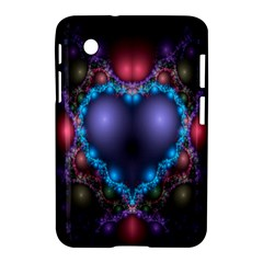 Blue Heart Fractal Image With Help From A Script Samsung Galaxy Tab 2 (7 ) P3100 Hardshell Case