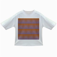 Brick Wall Squared Concentric Squares Infant/toddler T Shirts