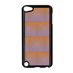 Brick Wall Squared Concentric Squares Apple iPod Touch 5 Case (Black)