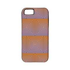 Brick Wall Squared Concentric Squares Apple Iphone 5 Classic Hardshell Case (pc+silicone)