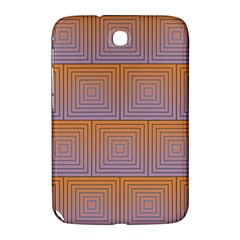 Brick Wall Squared Concentric Squares Samsung Galaxy Note 8.0 N5100 Hardshell Case