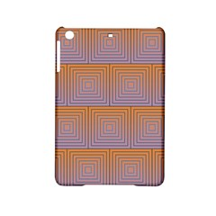 Brick Wall Squared Concentric Squares iPad Mini 2 Hardshell Cases