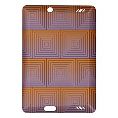 Brick Wall Squared Concentric Squares Amazon Kindle Fire HD (2013) Hardshell Case