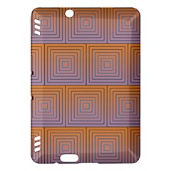 Brick Wall Squared Concentric Squares Kindle Fire HDX Hardshell Case