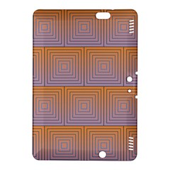 Brick Wall Squared Concentric Squares Kindle Fire HDX 8.9  Hardshell Case