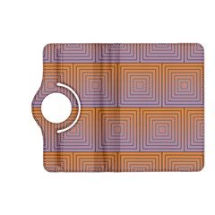 Brick Wall Squared Concentric Squares Kindle Fire HD (2013) Flip 360 Case