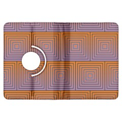 Brick Wall Squared Concentric Squares Kindle Fire Hdx Flip 360 Case