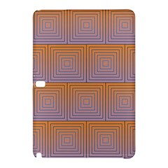 Brick Wall Squared Concentric Squares Samsung Galaxy Tab Pro 12 2 Hardshell Case