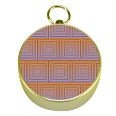 Brick Wall Squared Concentric Squares Gold Compasses
